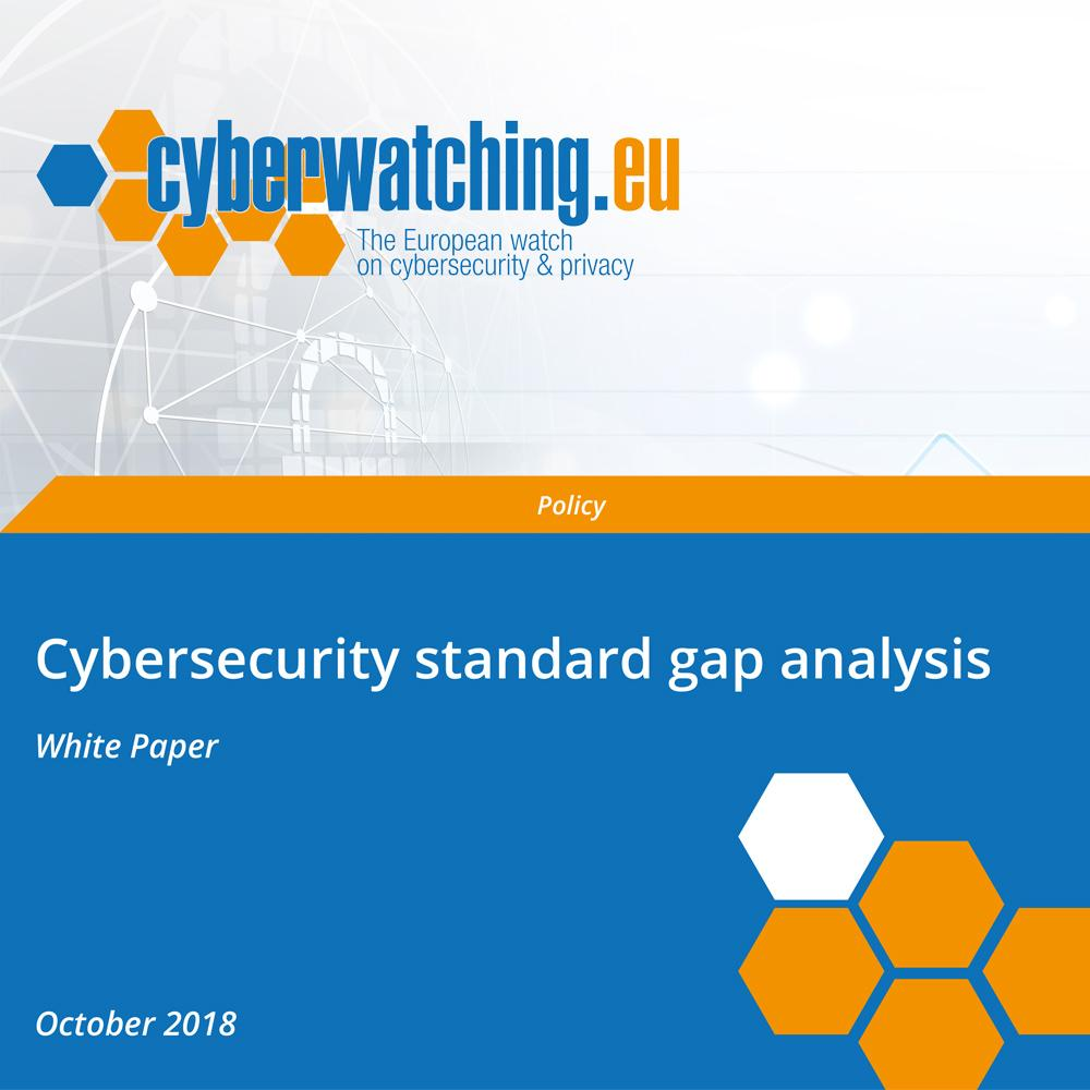 Cybersecurity standard gap