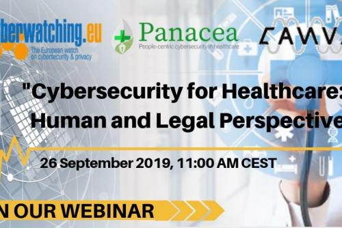 Cybersecurity for healthcare: human and legal perspectives