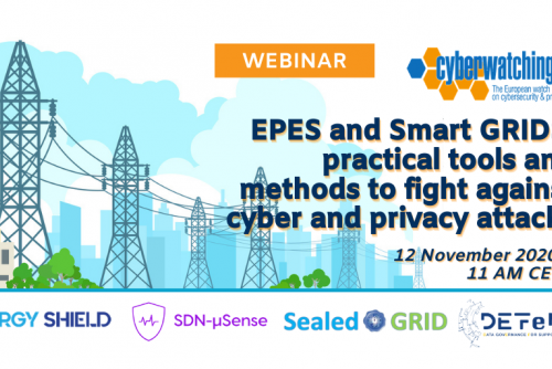 Cyberwatching Webinar on Energy & Smart GRID Sectors